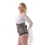 Vixen Brown Leather W/cincher  Corset*